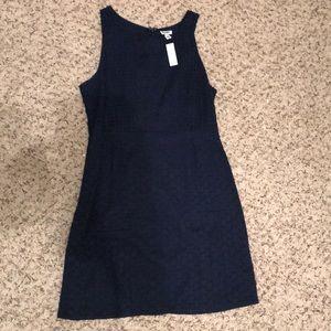 Navy sleeveless lace dress Old Navy. New w/tags